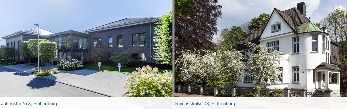 Gebäude der Prange Gruppe in Plettenberg, Jüttenstraße 8 und Reichsstraße 78